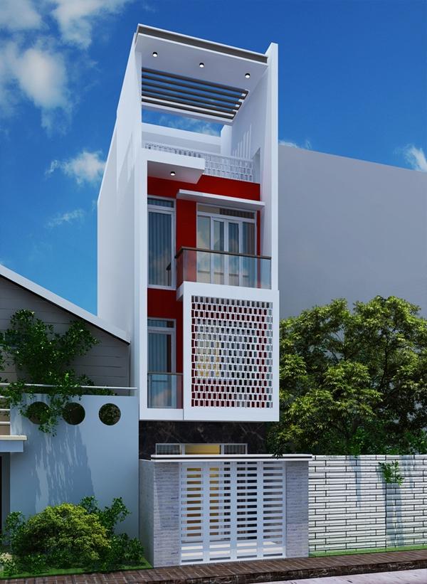 Mẫu thiết kế nhà phố đẹp tại Thủ Dầu Một, Bình Dương