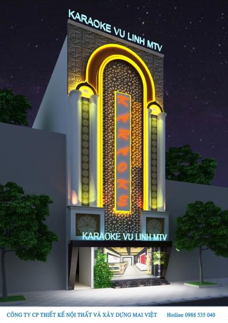 Thiết kế nhà hàng Karaoke