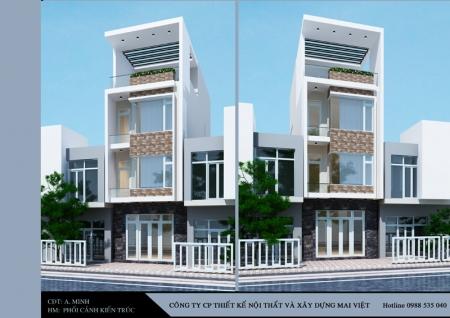 Thiết kế nhà phố 5mx17m