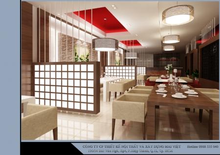 Nội thất nhà hàng Việt