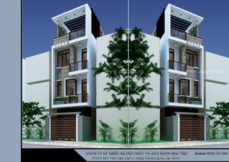 Nhà phố 4x14 - Chủ đầu tư: A.Trị
