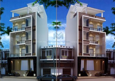 Nhà phố hiện đại 8mx20m