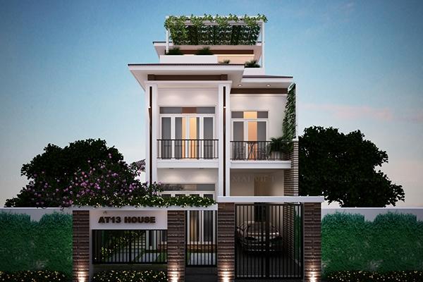 Thiết kế biệt thự phố vườn 9x20m