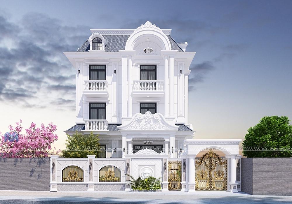 Thiết kế biệt thự vườn cổ điển