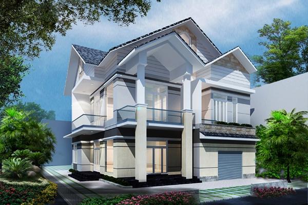 Thiết kế cải tạo nhà biệt thự.