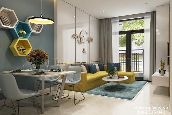 Thiết kế và thi công căn hộ chung cư The Parkland