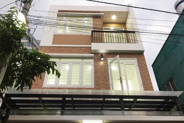 Thiết kế và thi công nhà phố mặt tiền 5m.