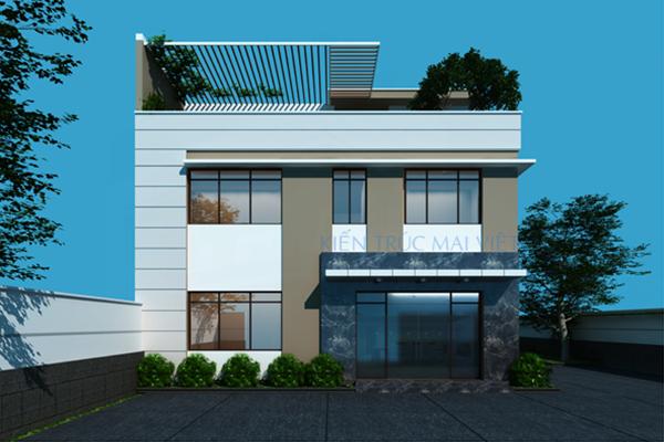 Thiết kế văn phòng kết hợp nhà xưởng tại Hóc Môn, Tp. HCM